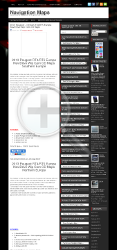 2013 Peugeot RT4/RT5 Europe NaviDrive Wip Com CD Maps Northern Full Version preview. Click for more details