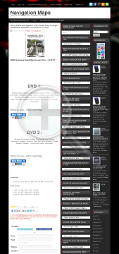 2014 BMW Navigation DVD Road Map Europe BUSINESSDVD1 Full Version preview. Click for more details