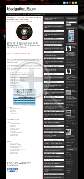 2014 ToyotaLexus GPS Navigation DVD North American U 28 V 13 1 GEN 4 Full Version preview. Click for more details