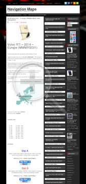 2014 Volvo RTI – Europe MMM/P2001 DVD NavigationDVDA Full Version preview. Click for more details