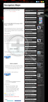 2015 Audi MMI 2G Europa DVD MapsDVD1WEST Full Version preview. Click for more details