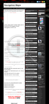 Audi MMI Navigation System DVD Map North America Version 2008/2009 2010 Update Full preview. Click for more details